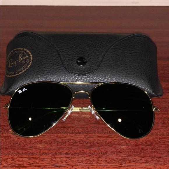 a693b91053 Ray-Ban Aviator Sunglasses w  Original Case